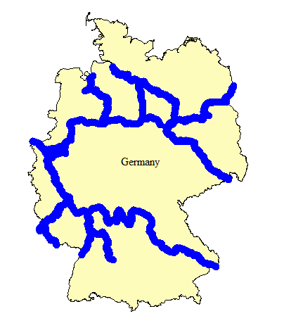 Germany Rivers